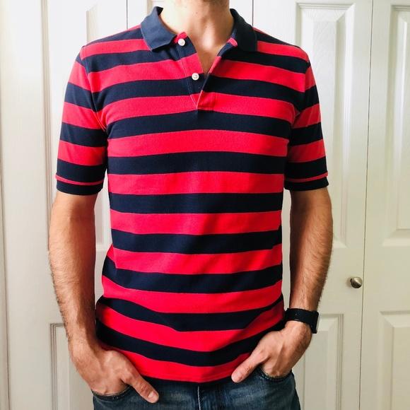 5e072b7f Brooks Brothers Shirts & Tops | Boys Fleece Striped Polo Shirt L ...